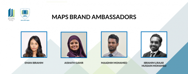 MAPS Maldives announce first ever Brand Ambassadors for MAPS College and MAPS International High